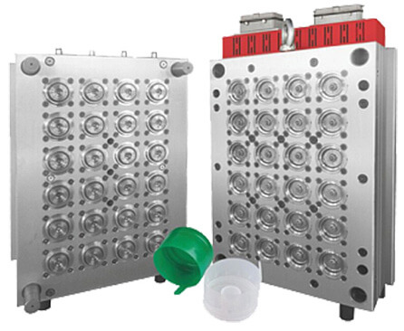 24-cavity Five Gallon Cap Injection Mould