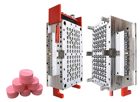 72-cavity Water Bottle Cap Injection Mould